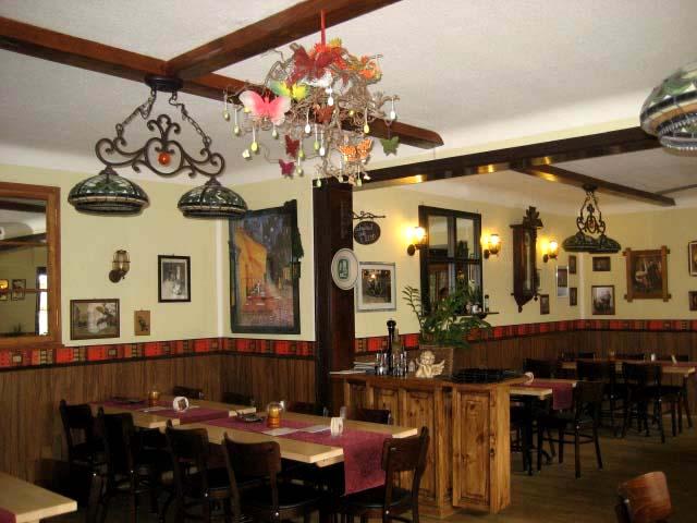 gastronomie ohne kunstbaum dekoration